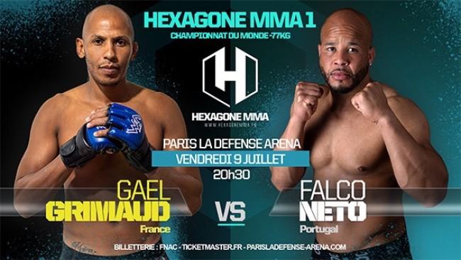 GAËL GRIMAUD : MAIN EVENT DU PREMIER HEXAGONE MMA